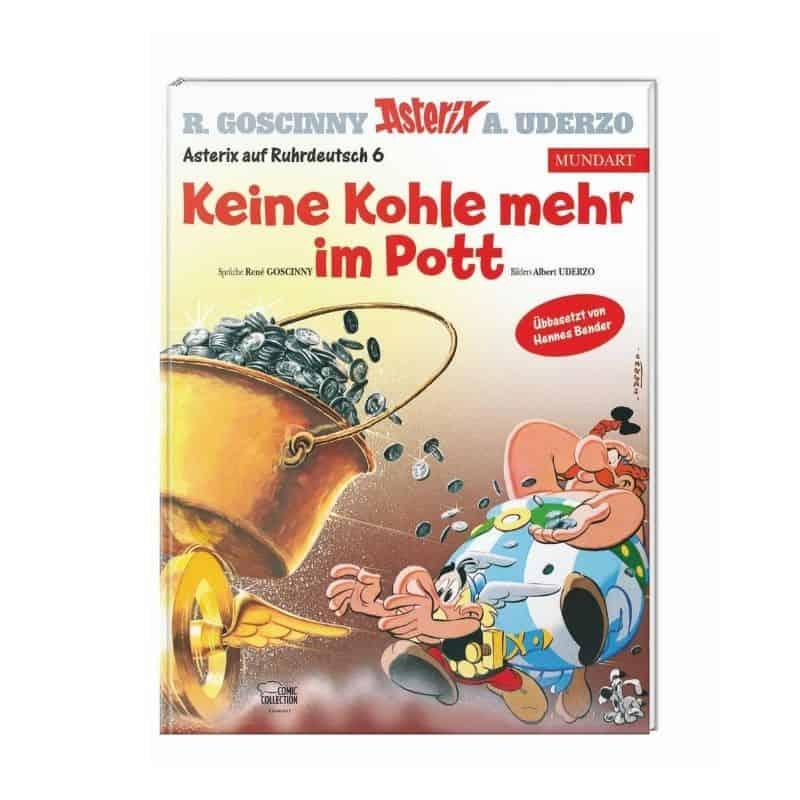 Neuer Asterix-Band im Ruhrpott-Deutsch